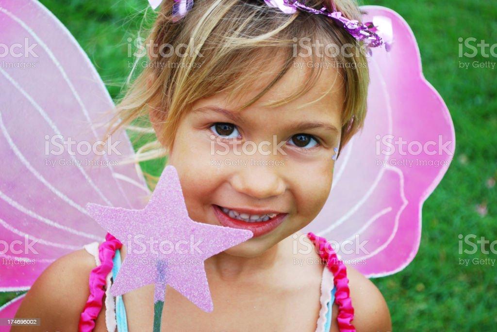 Little fairy royalty-free stock photo