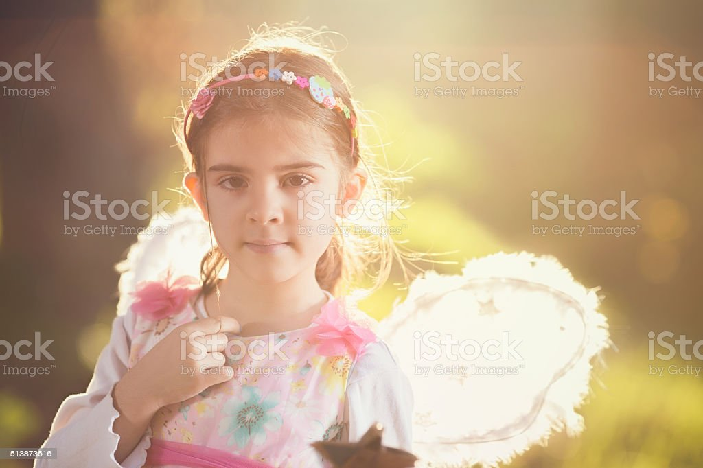 Little Fairy stock photo