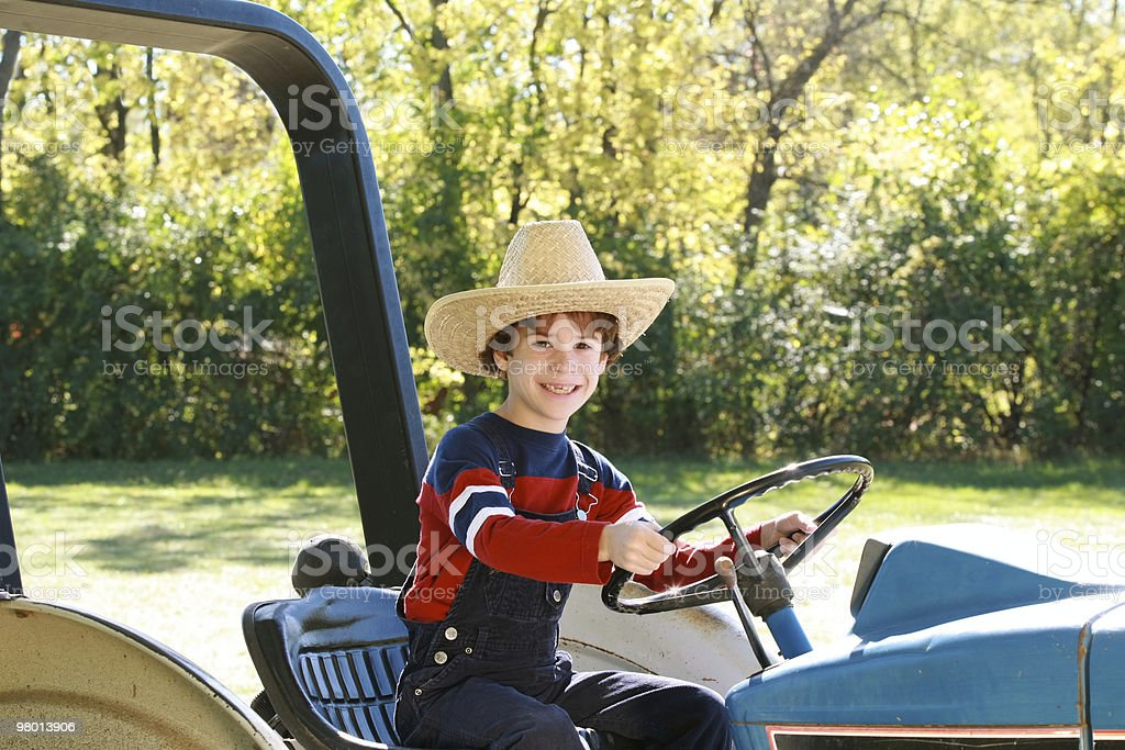 Little Farmer royalty-free stock photo