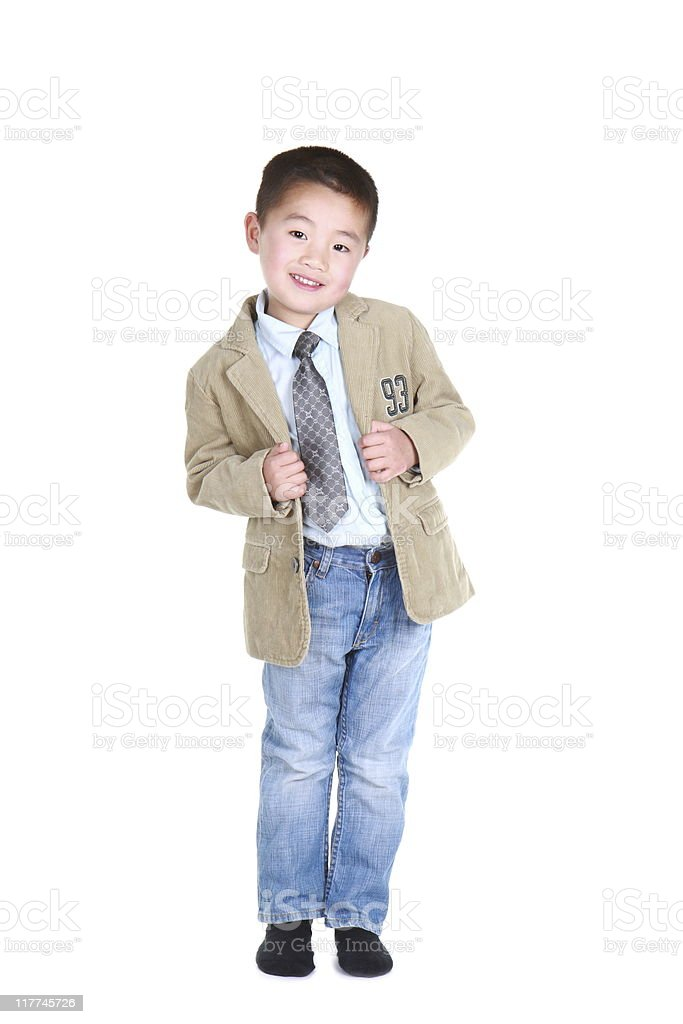 little fashion model (series) royalty-free stock photo