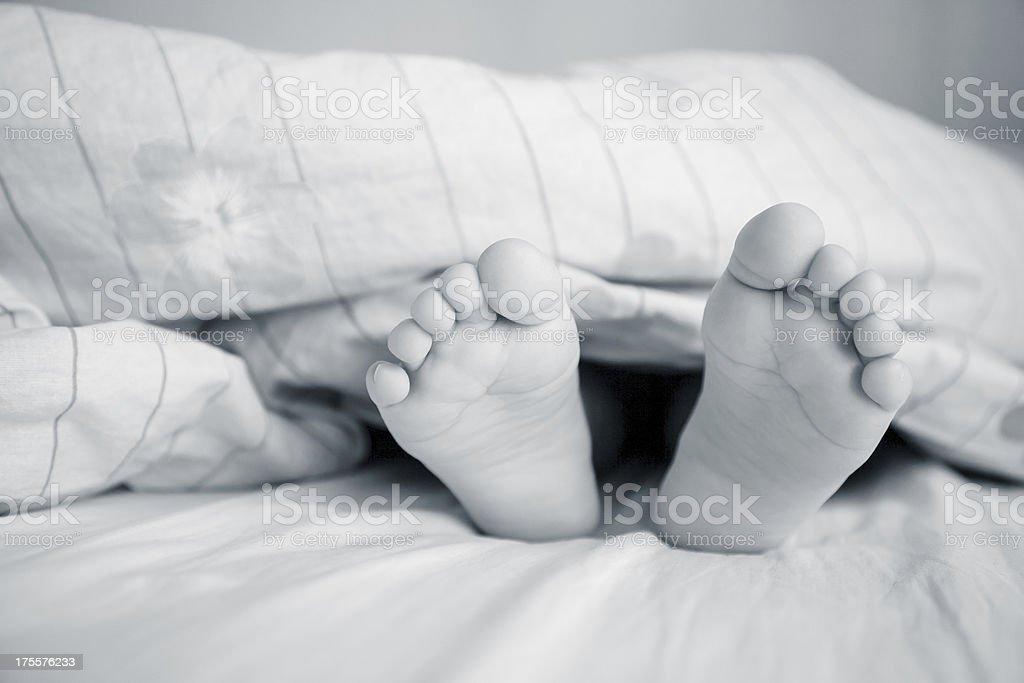 little feet royalty-free stock photo