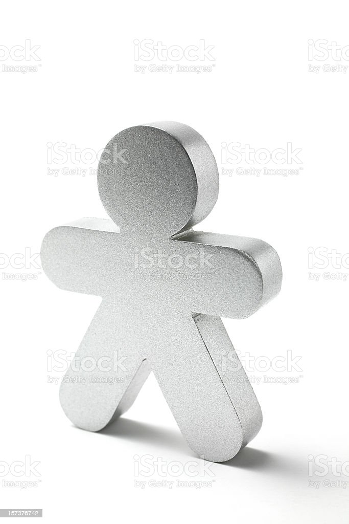 Little Figure royalty-free stock photo