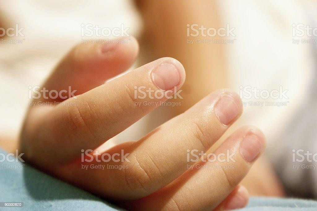 little finger Lizenzfreies stock-foto