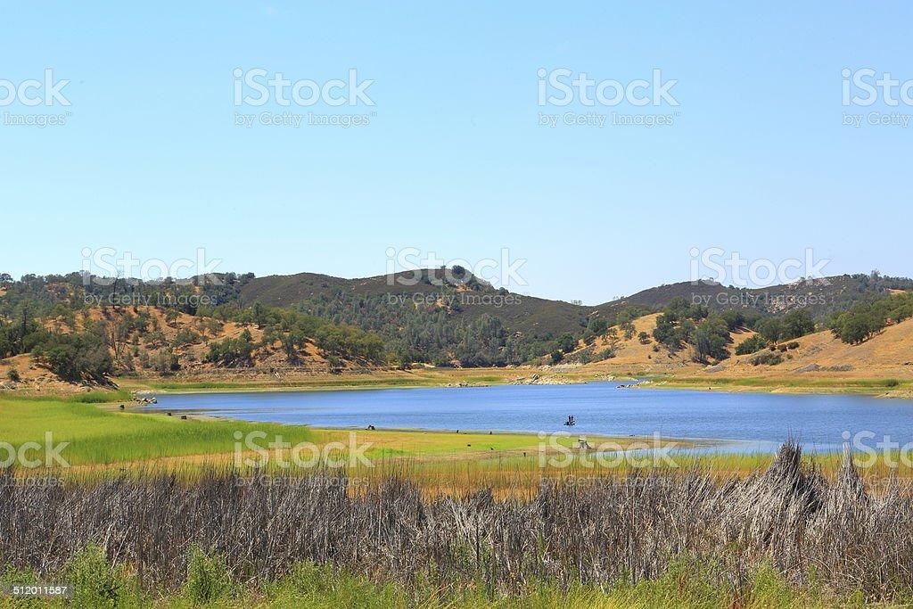 Little Fishing Lake stock photo