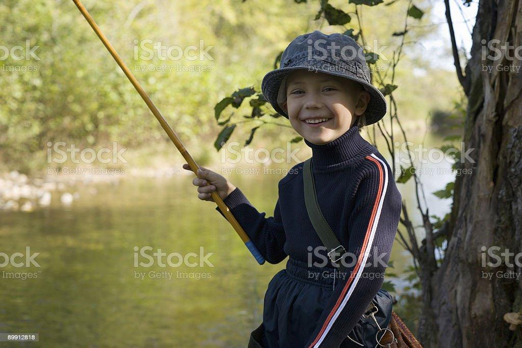 little fishman royalty-free stock photo