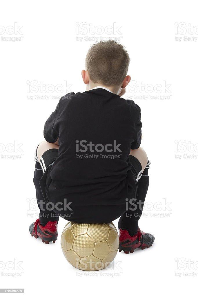 Little Footballplayer stock photo