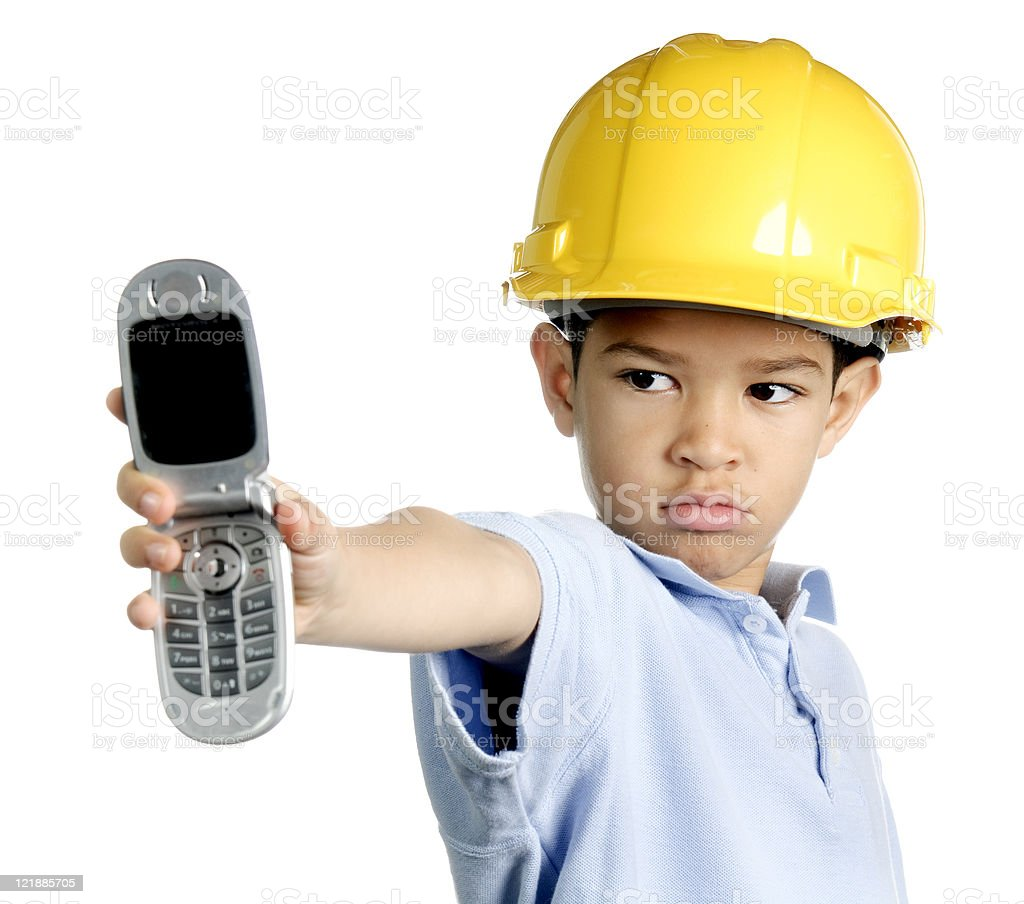 Little Foreman royalty-free stock photo