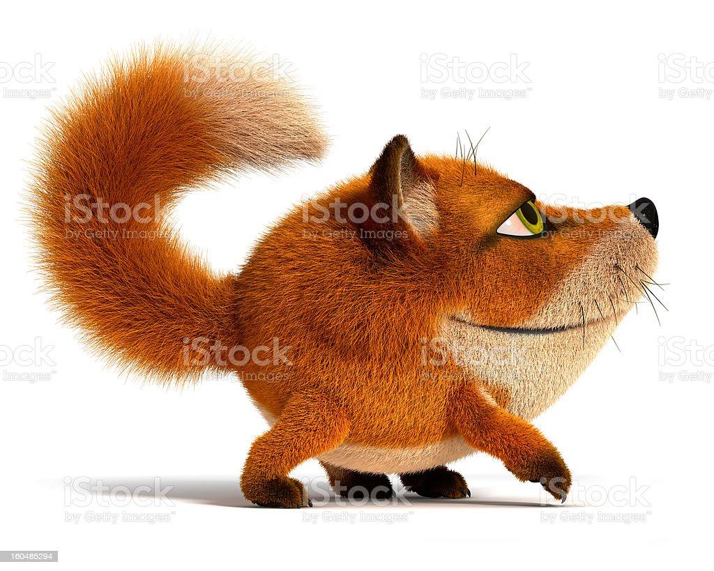 Little fox royalty-free stock photo
