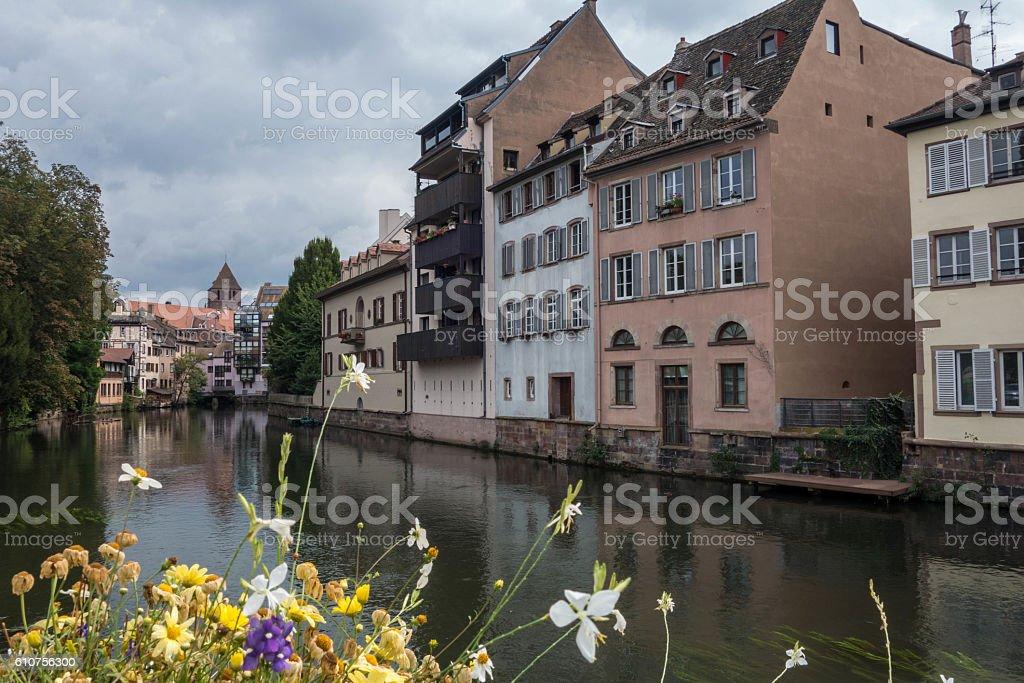 Little France in Strasbourg stock photo