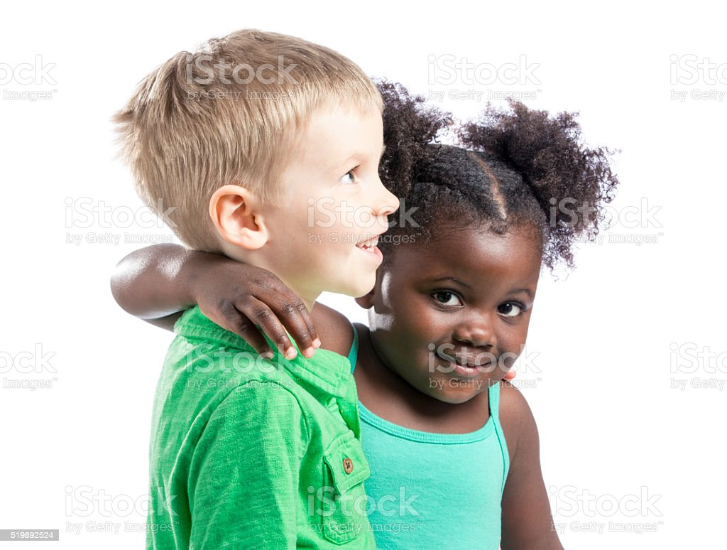 Little Friends stock photo