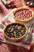 Little Fruit Custard Pies