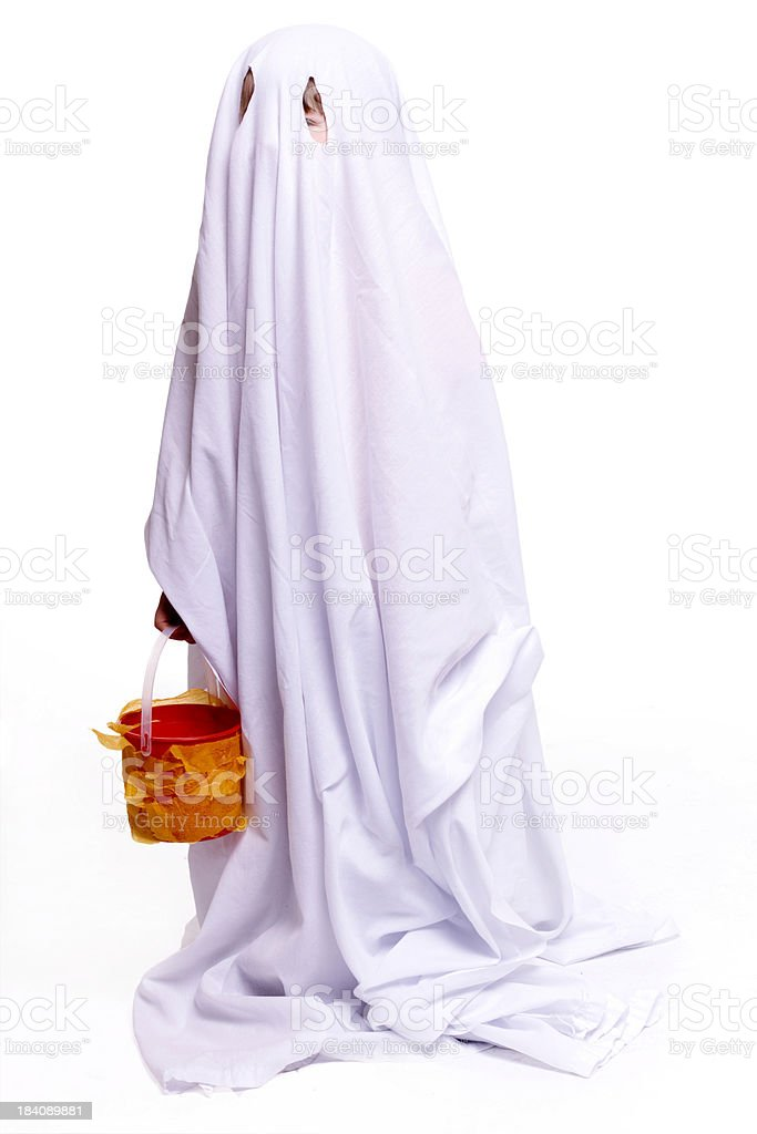 Little ghost royalty-free stock photo