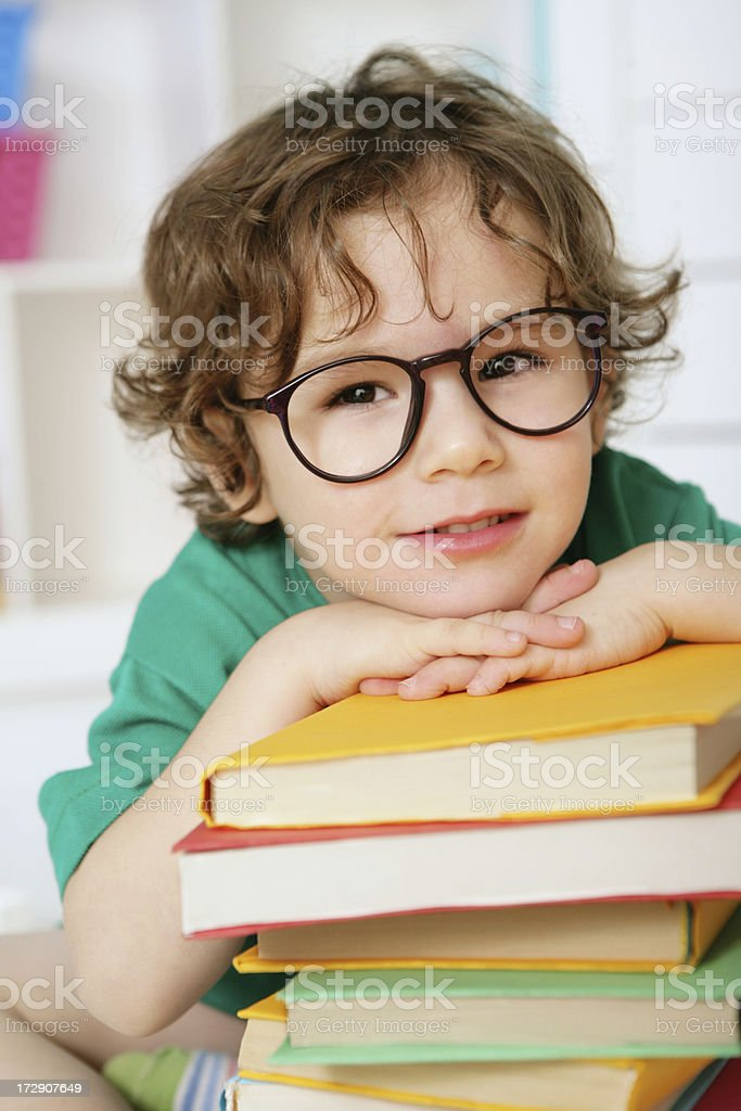 little gienius royalty-free stock photo