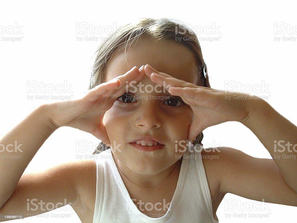 Little Girl 1 royalty-free stock photo