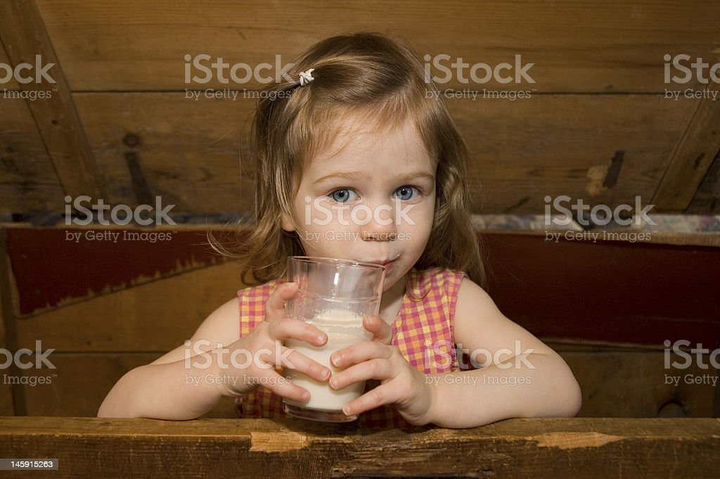 Petite fille royalty-free stock photo