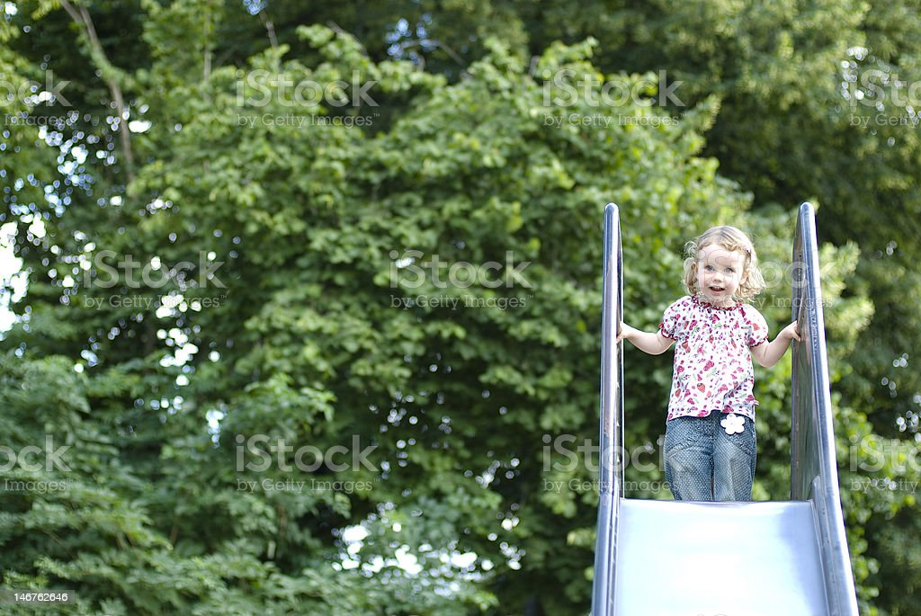 little girl stock photo