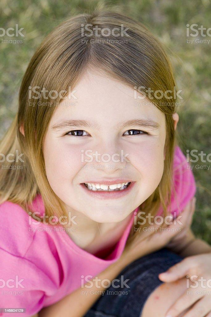Little niña foto de stock libre de derechos