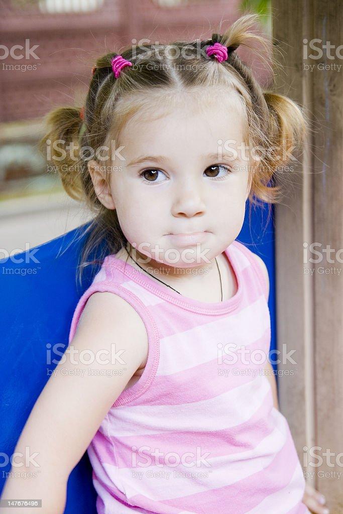 Kleines Mädchen Lizenzfreies stock-foto
