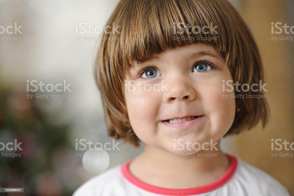 little girl portrait royalty-free stock photo