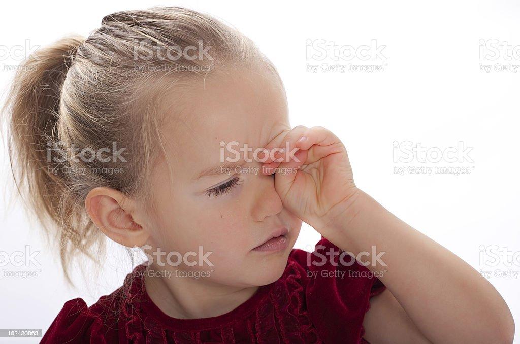 Little Girl Portrait royalty-free stock photo