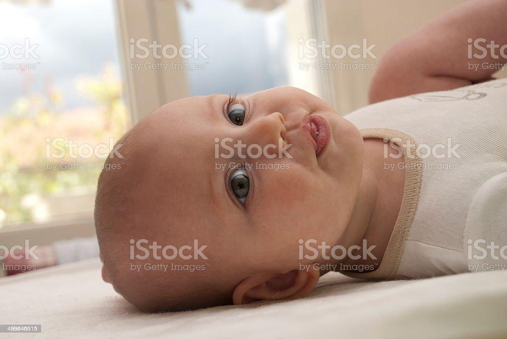 bimba ritratto profilo stock photo