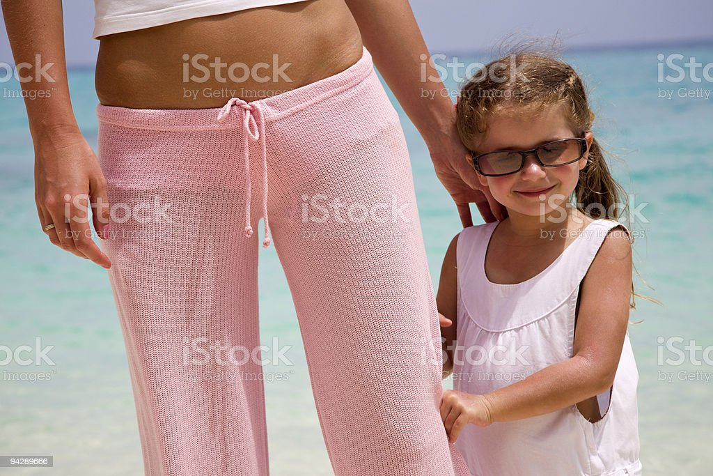 Little girl with sunglasses royalty-free stock photo