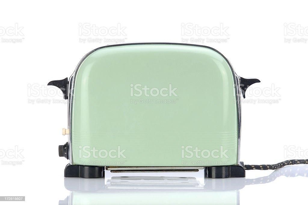 Little Green Toaster stock photo