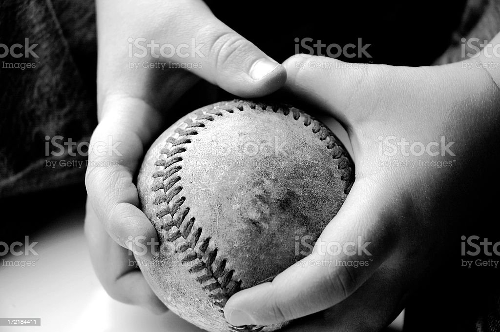 Little Grip royalty-free stock photo
