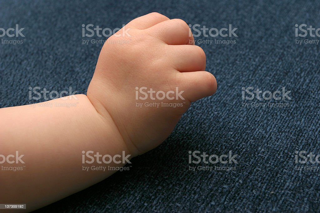 Little hand royalty-free stock photo