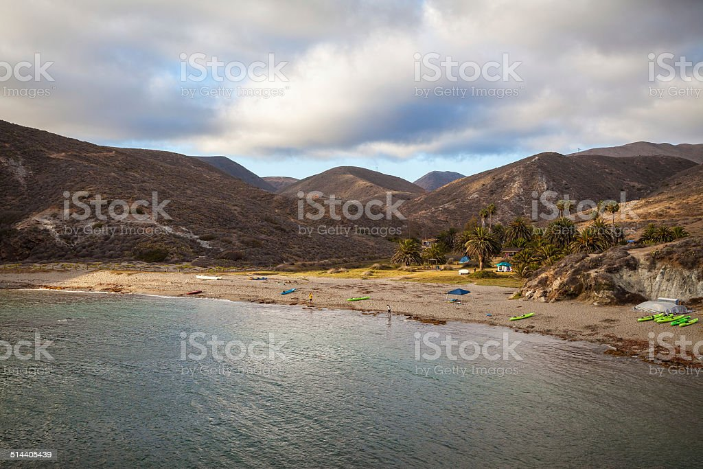 Little Harbor, Catalina Island, California royalty-free stock photo