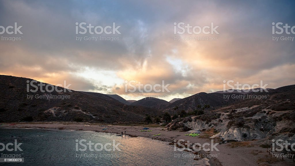 Little Harbor Catalina Island, California royalty-free stock photo