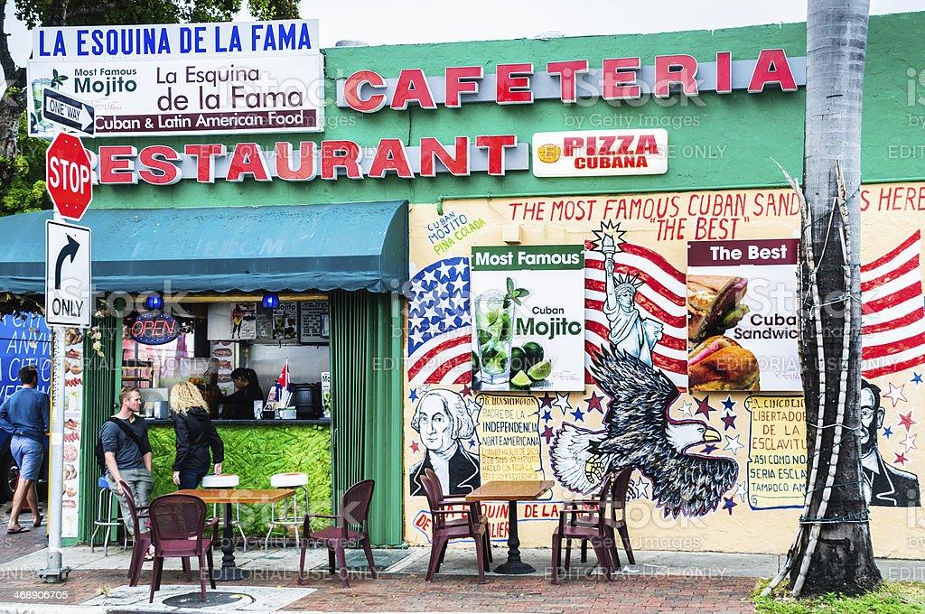 Little Havana Al Fresco stock photo