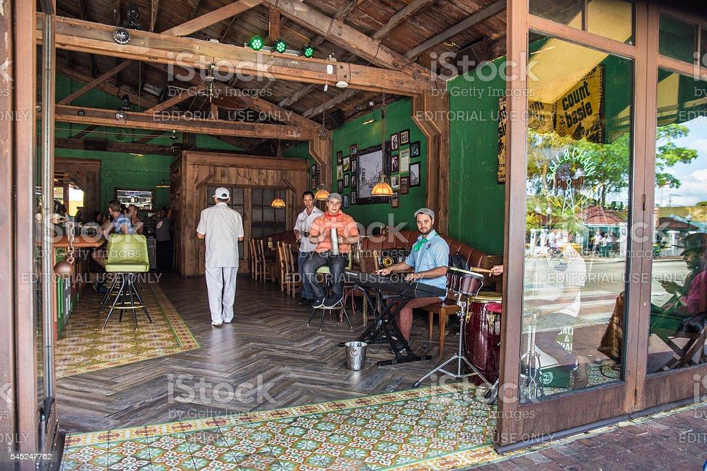 Little Havana Miami stock photo