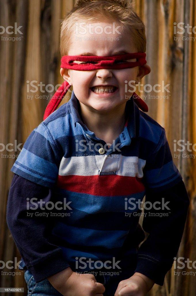Little hero royalty-free stock photo