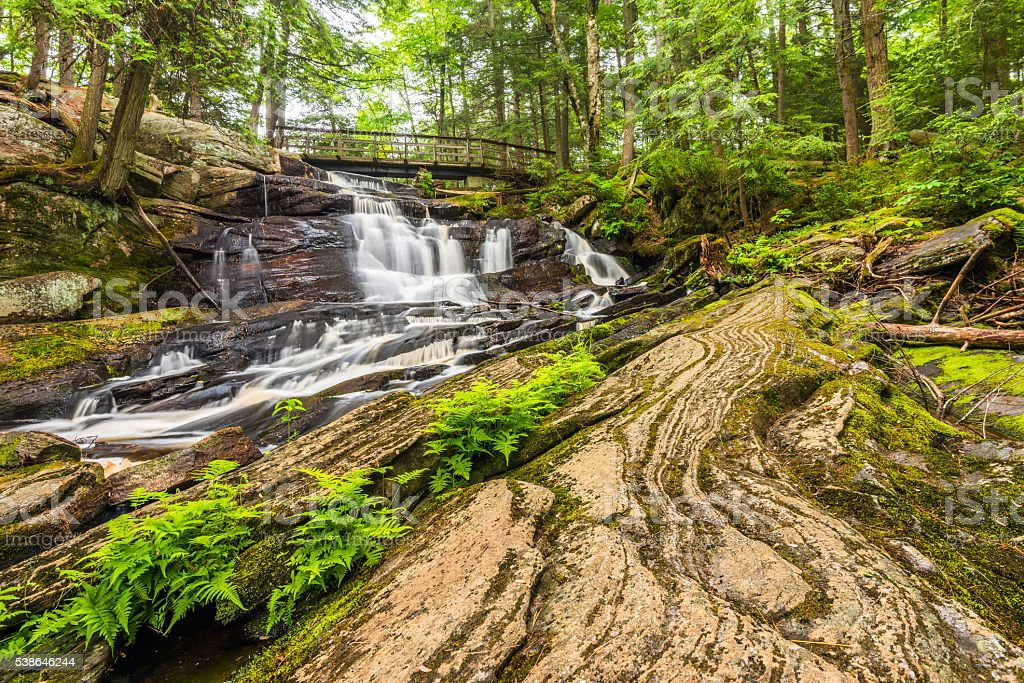 Little High Falls stock photo