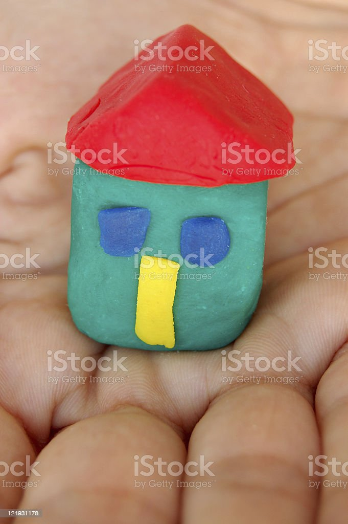 little house royalty-free stock photo