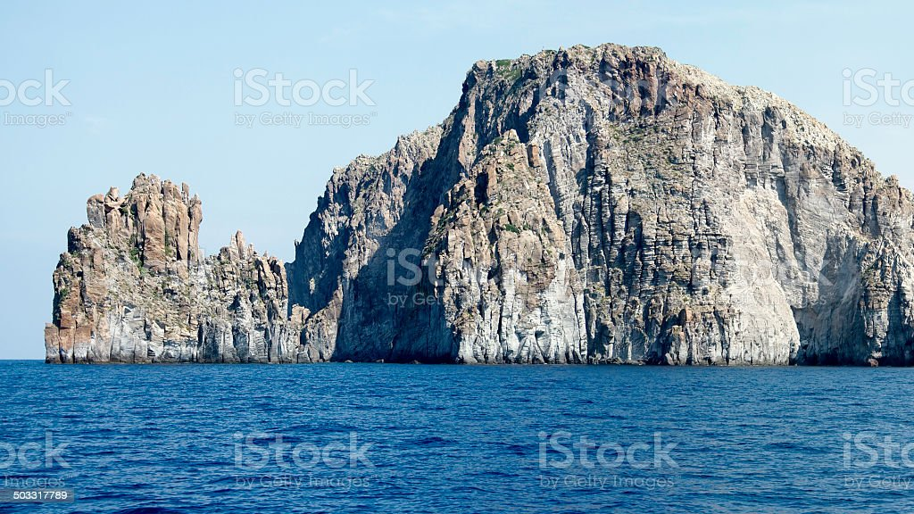 little island in sicily royalty-free stock photo