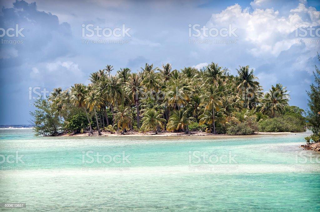 Little Island stock photo