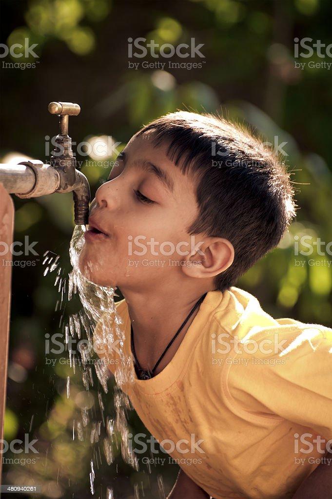 little kid royalty-free stock photo