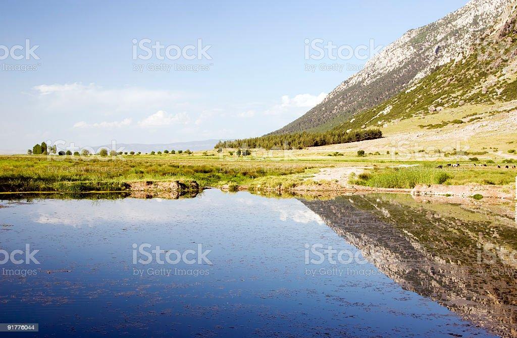 Little Lake stock photo