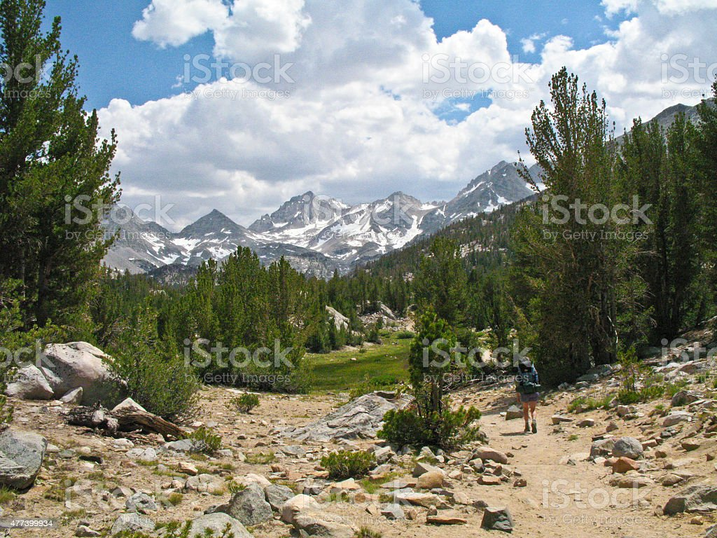 Little Lakes Basin stock photo