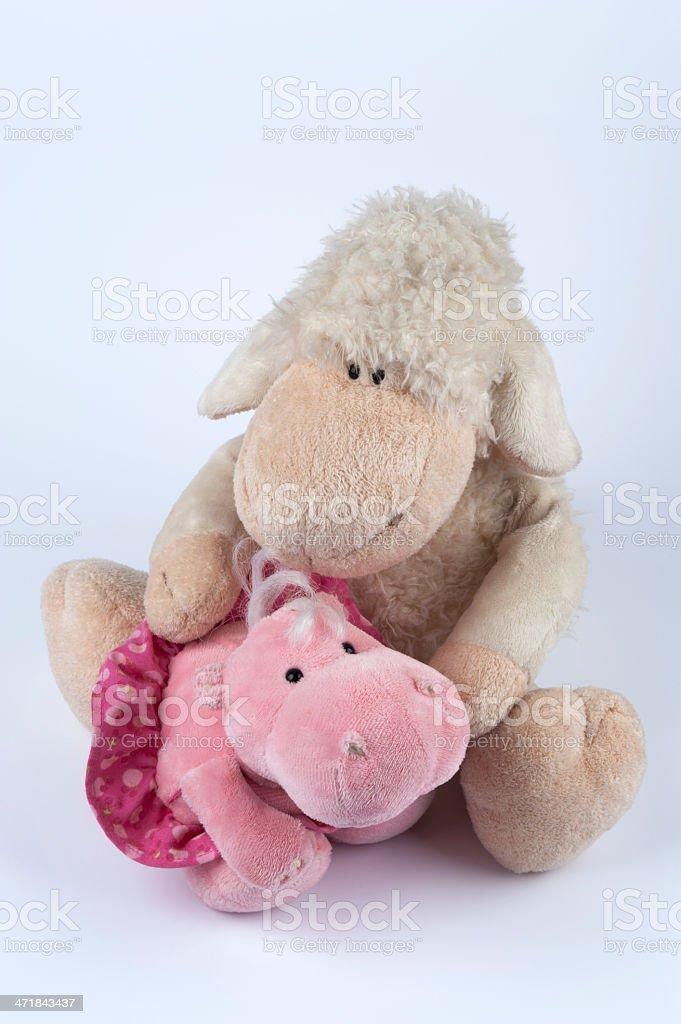 little lamb royalty-free stock photo