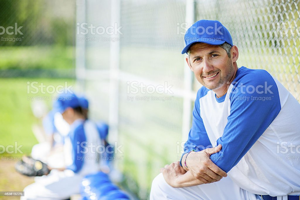 Little League Baseball stock photo