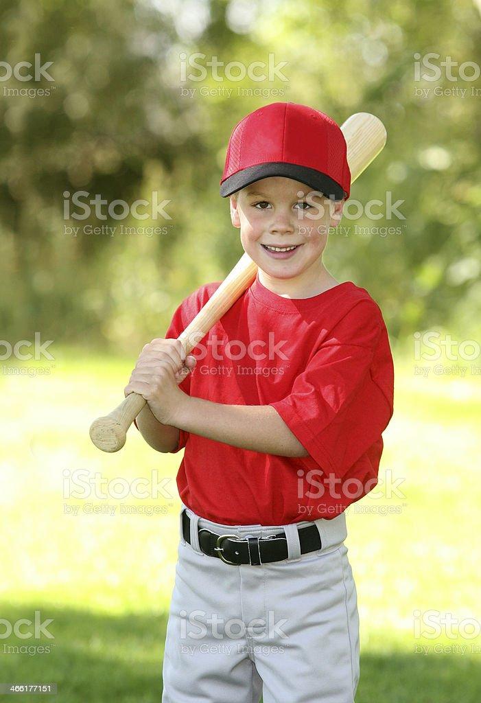 Little League Baseball Player royalty-free stock photo