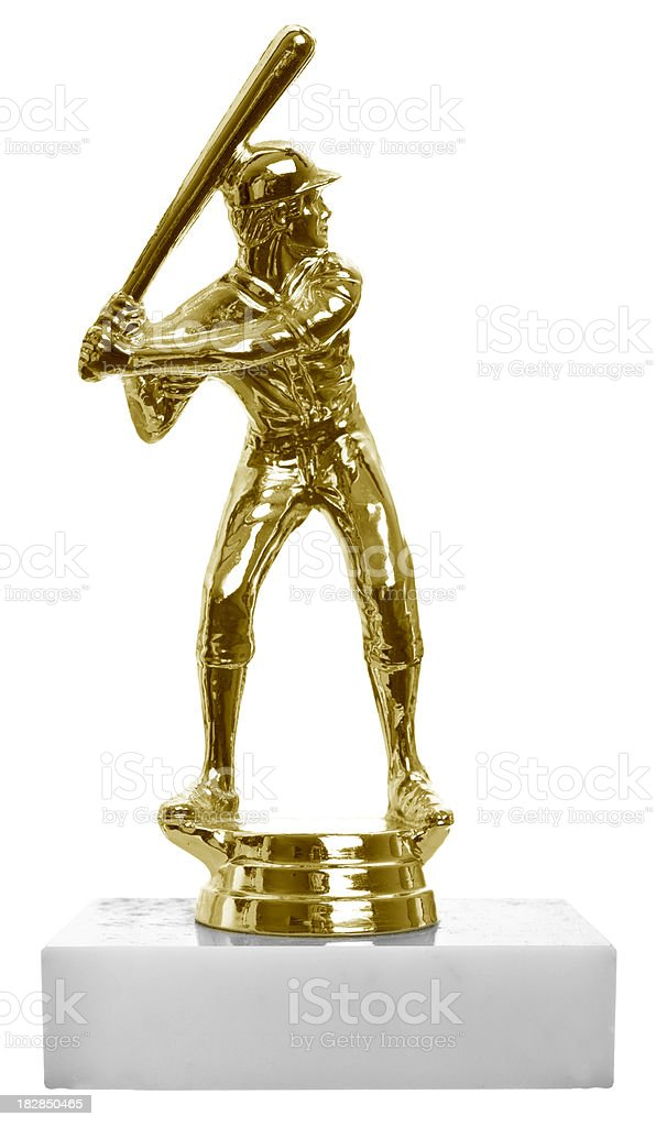 Little League Trophy stock photo
