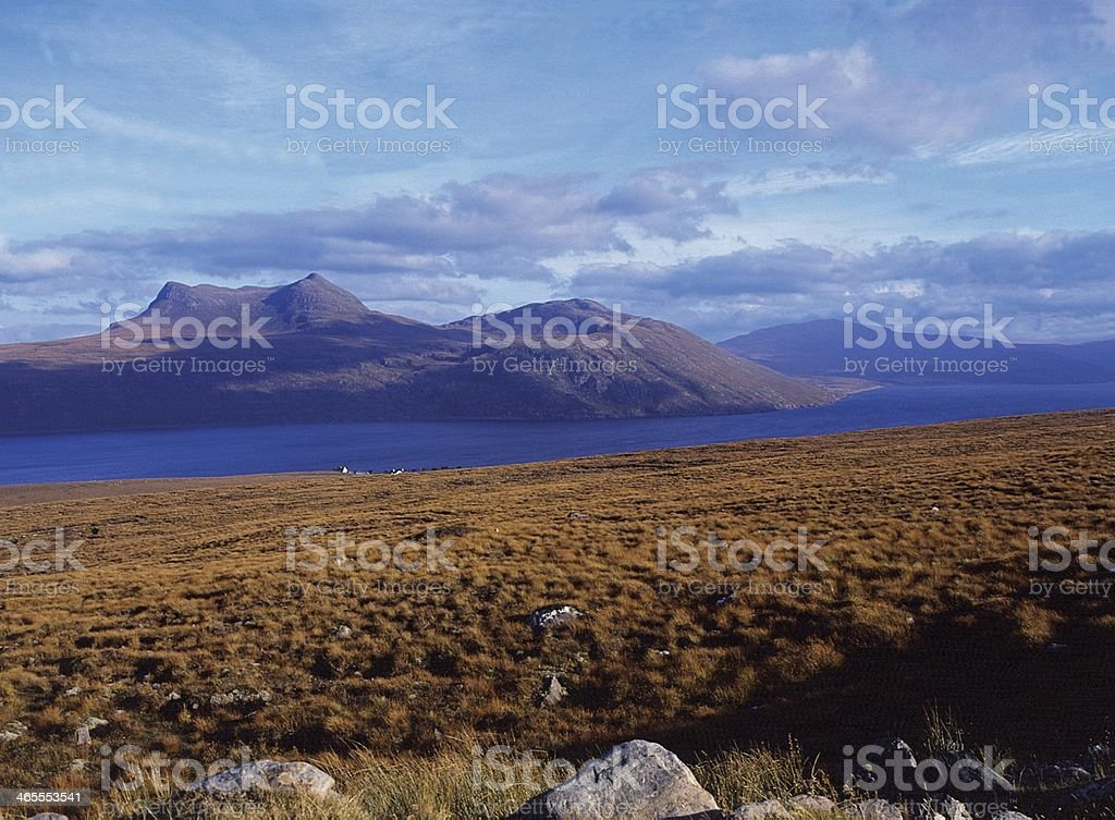 Little Loch Broom, Wester Ross stock photo
