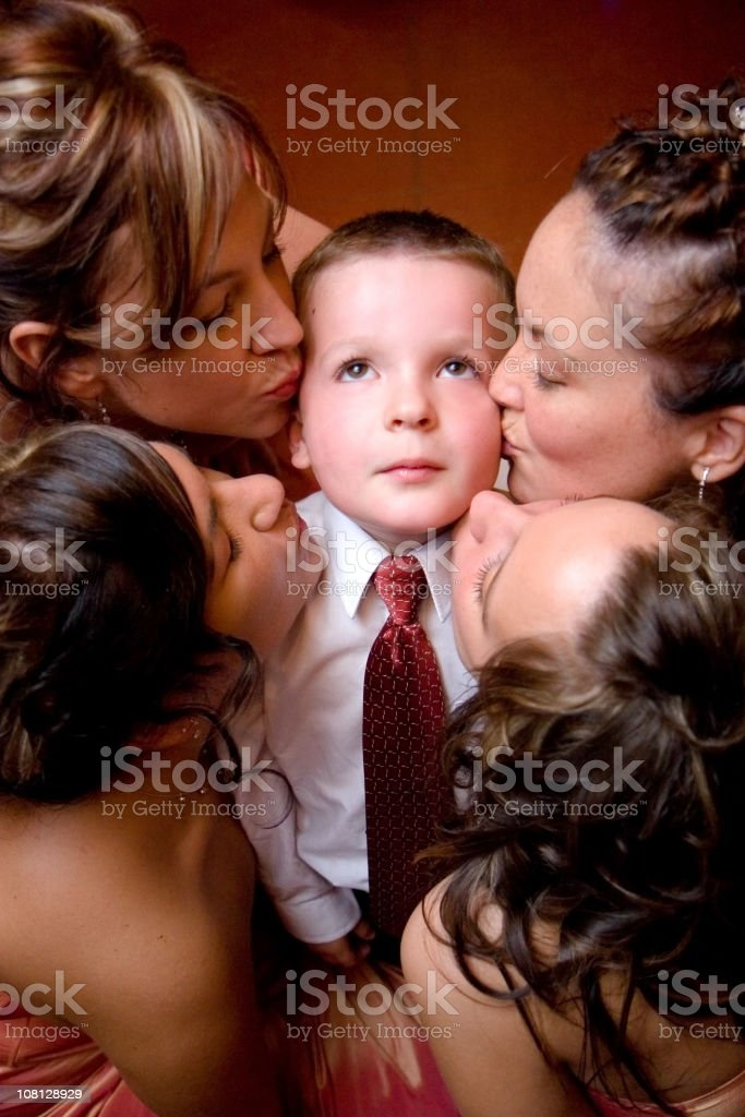 little lucky boy royalty-free stock photo