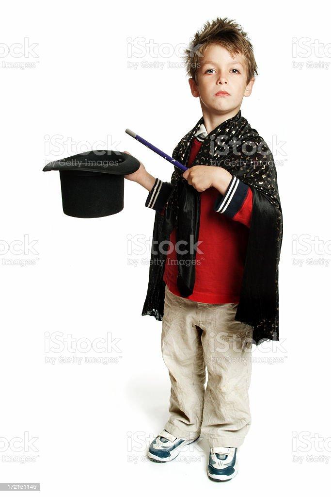 Little Magician 01 stock photo