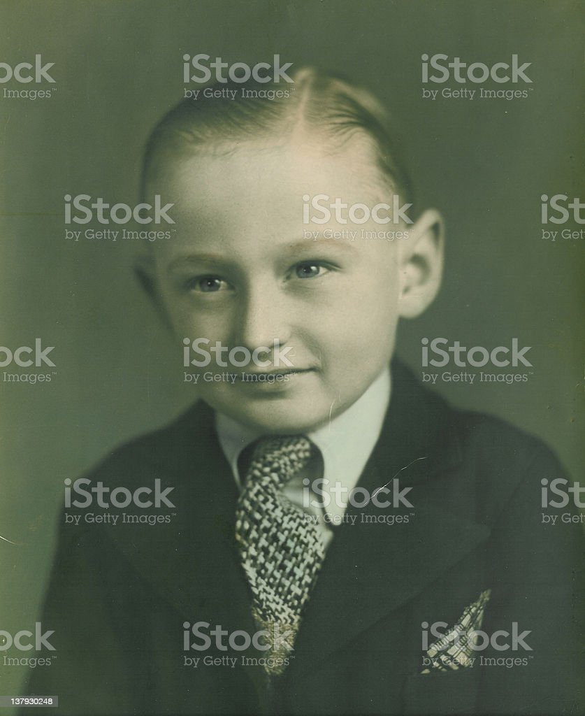 Little Man stock photo