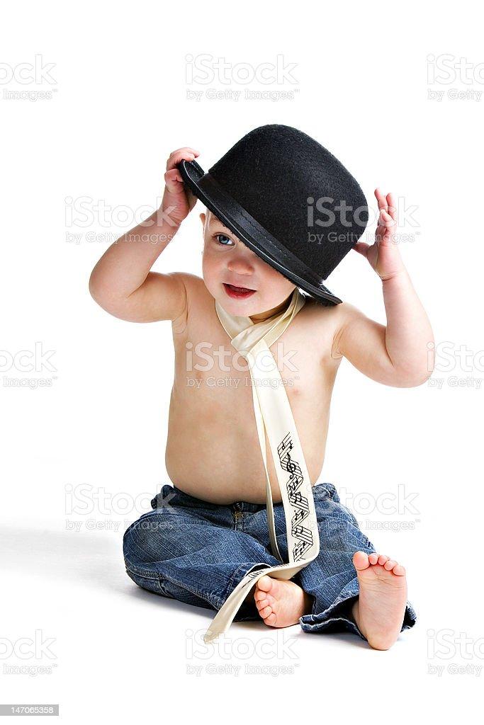 Little Man royalty-free stock photo